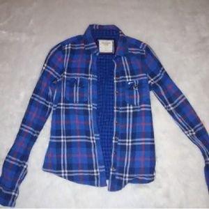 Abercrombie Small Button Up Shirt